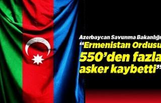 """Azerbaycan Savunma Bakanlığı: """"Ermenistan..."""