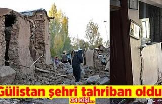 Gülistan Şehri tahriban oldu!
