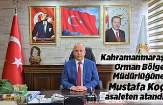 Kahramanmaraş Orman Bölge Müdürlüğüne Mustafa...