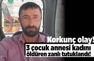 Korkunç olay! 3 Çocuk annesi kadını öldüren...