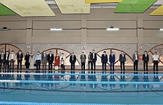 Şehit Hüseyin Varol Kapalı Yüzme Havuzu törenle...