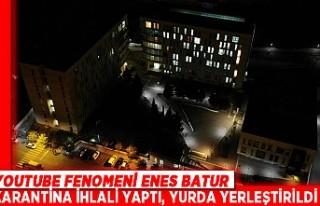 Youtube Fenomeni Enes Batur Karantina İhlali Yaptı,...