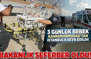 Bakanlık seferber oldu, Kahramanmaraş'tan İstanbul'a...