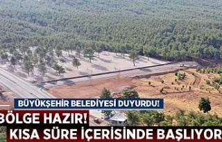 Büyükşehir Belediyesi Duyurdu! Bölge Hazır Kısa...