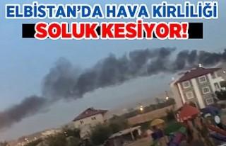 Elbistan'da hava kirliliği soluk kesiyor!
