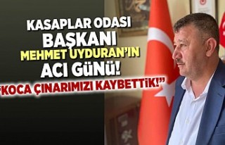 Kasaplar odası Başkanı Mehmet Uyduran'ın...