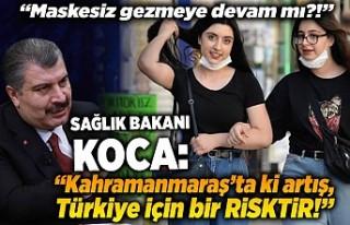 Sağlık Bakanı Koca: ''Kahramanmaraş'ta...