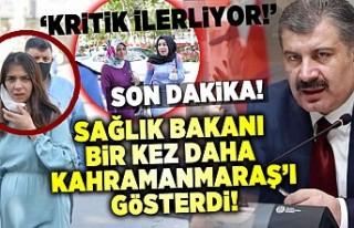 Son Dakika! Sağlık Bakanı Koca Kahramanmaraş'ta...