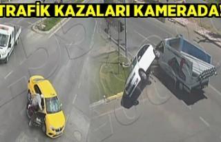 Trafik Kazaları Kamerada!