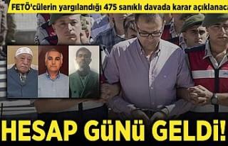 FETÖ'cülerin yargılandığı 475 sanıklı...