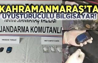 Kahramanmaraş'ta Uyuşturuculu Bilgisayar!