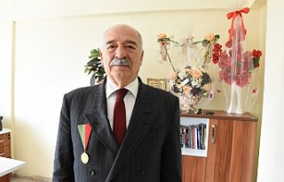 Madalyalı şehrin baş aktörlerinden Arslan Bey'i...