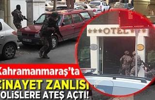 Kahramanmaraş'ta cinayet zanlısı polislere...