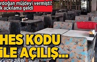 Erdoğan müjdeyi vermişti! Hes kodu ile açılış...