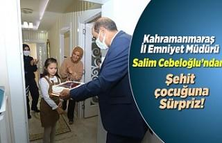 Kahramanmaraş il Emniyet Müdürü Cebeloğlu'ndan...