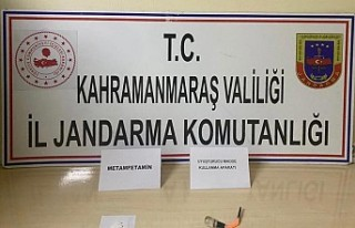 Kahramanmaraş'taki uyuşturucu operasyonunda...