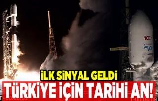 Türkiye için tarihi an! İlk sinyal geldi!
