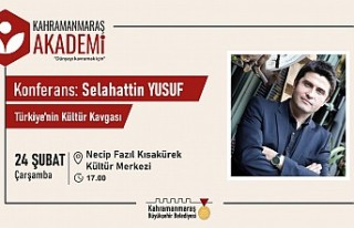 Akademi'de Türkiye'nin Kültür Kavgası Konferansı