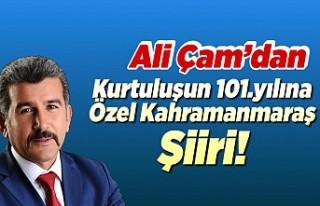 Ali Çam'dan Kahramanmaraş'ın Kurtuluşunun...