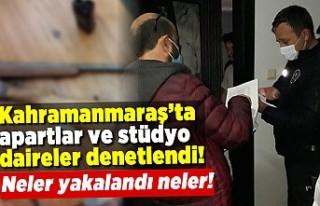 Kahramanmaraş'ta apart ve stüdyo dairlere şok...