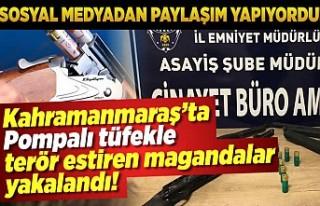 Kahramanmaraş'ta Asayiş ve Sanal Devriye ekipleri...