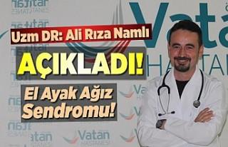 Kahramanmaraş'ta Vatan Hastanesi Doktoru Ali...