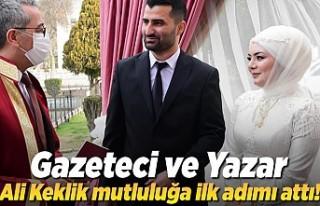 Kahramanmaraş'ta Dört dörtlük nikah, Gazeteci...