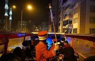 Kurtuluş Otobüsü Şehri Dolaşıyor