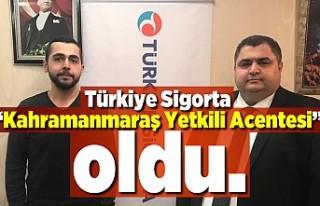 """Türkiye Sigorta """"Kahramanmaraş Yetkili Acentesi""""..."""