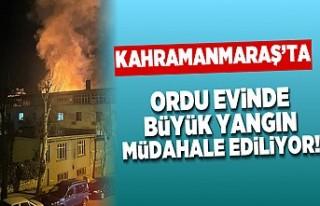 Kahramanmaraş'ta büyük yangın! müdahale...
