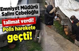 Cebeloğlu talimat verdi, polis harekete geçti!