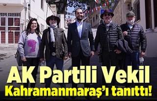 Cihat Sezal Misafirlere Kahramanmaraş'ı tanıttı!