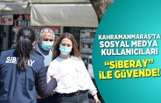 Kahramanmaraş'ta sosyal medya kullanıcıları...