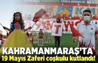 Kahramanmaraş'ta 19 Mayıs Gençlik Bayramı...