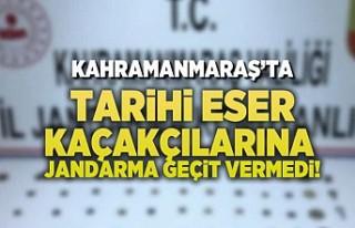 Kahramanmaraş'ta tarihi eser kaçakçılarına...