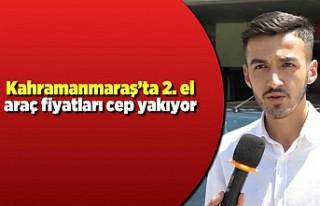 Kahramanmaraş'ta 2.el araç fiyatları cep yakıyor!