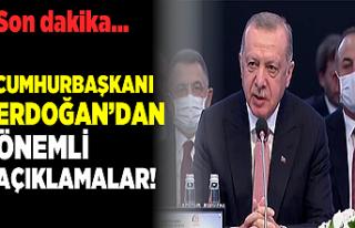 Son dakika... Cumhurbaşkanı Erdoğan'dan önemli...