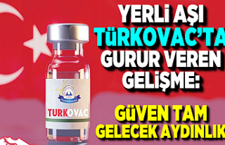 Yerli aşı Türkovac'ta gurur veren gelişme:...