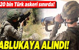 Afgan göçüne komandolu önlem! 20 bin Mehmetçik...