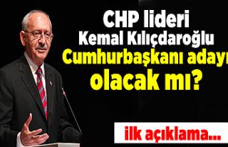 CHP lideri Kemal Kılıçdaroğlu Cumhurbaşkanı...