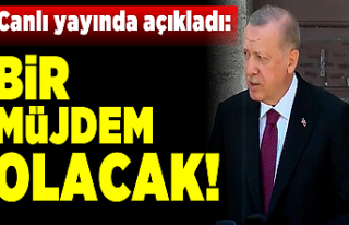 Cumhurbaşkanı Erdoğan açıkladı: Müjdesini parlamentoda...