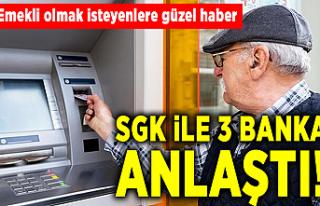 Emekli olmak isteyenlere güzel haber! SGK ile 3 banka...