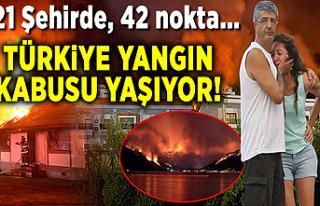 Son dakika haberleri: Türkiye yangın kabusu yaşıyor!...