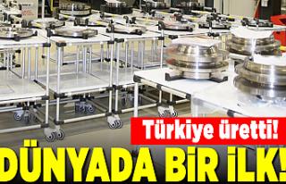 Türkiye üretti! TUSAŞ'tan dünyada bir ilk