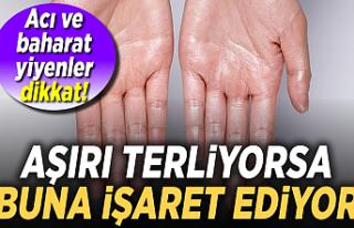 Aşırı el terlemesi neden olur?