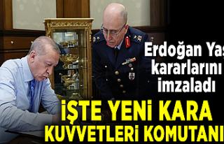 Cumhurbaşkanı Erdoğan, YAŞ kararlarını onayladı!...