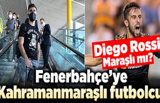 Fenerbahçe'ye Kahramanmaraşlı futbolcu: Diego...