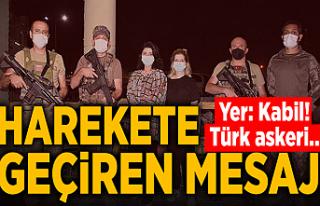 Kabil'de, Türk güvenlik güçlerinden kurtarma...