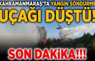 SON DAKİKA! Kahramanmaraş'ta yangın söndürme...