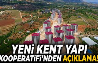 Kahramanmaraş'ın Yeni Kent Yapı Kooperatifi'nden...